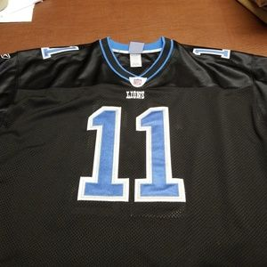 Roy Williams Lions Jersey.